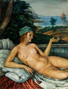 Roman Kramsztyk - Wenus na Lesbos (Safo), około  1919 r.
