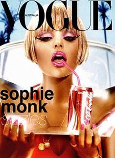 SOPHIE MONK VOGUE AUSTRALIA JANUARY 2004