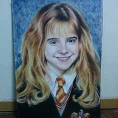 Hermione Granger  Who didn't love this smart little girl? Big portrait of Emma Watson. Dry brushing with oil on A2 paper. March 13, 2015  #emmawatson #movie #portrait #painting #artistic #harrypotter #gryffindor #hogwarts #drybrush #oilpaint #hermionegranger #cutekids #emmawatson_drawings #beauty #art_realistique #art_spotlight #instaart #get_a_feature #featuring_art #art_collective #art_collective_mag #adorable #charming #arts_gallery #instapainting #arts_help #artist_4_shoutout #nawden…