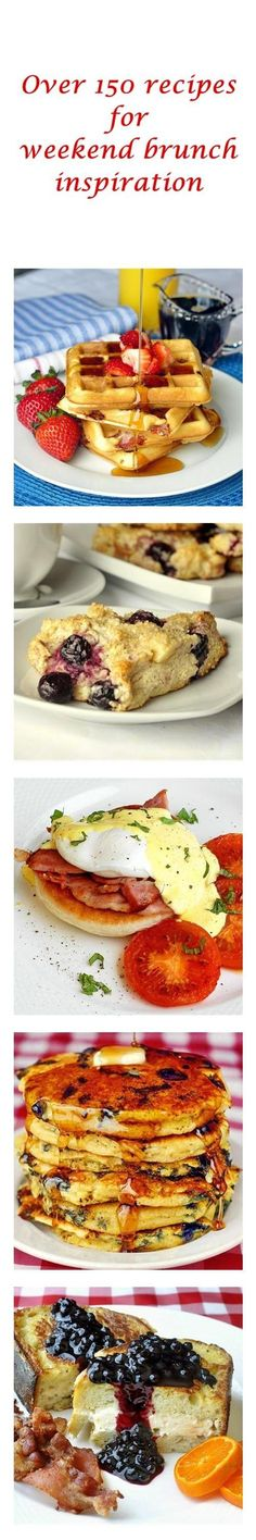 Check out this growing board to find over 150 recipes for everything from pancakes, waffles, frittatas and muffins to stuffed french toast, eggs benedict and phenomenal scones and biscuits. It's a brunch lovers dream page!
