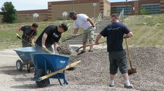 Here's a look at some of the volunteer work the team at DePuy Synthes did to help get schools in Monument ready before kids come back! Thank you for supporting Pikes Peak United Way!
