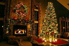 Wow! Just a perfect Christmas scene