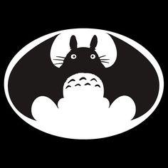 Batman Totoro! by minun