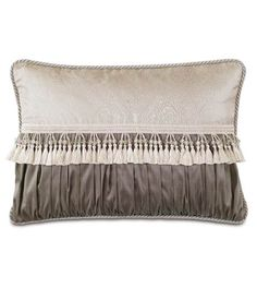 Edris Taupe Ruched Insert from Eastern Accents