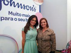 Com a Simpática Rosana Jatobá no evento da Johnson´s muito mais para o seu bebê http://www.maevaidosa.com/2015/02/johnsons-muitomaiparaoseubebe.html