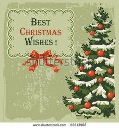 Vintage Christmas 写真素材・ベクター・画像・イラスト | Shutterstock