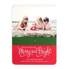 Casual Chic - William Arthur Holiday Cards in Ruby | Sarah Hawkins Designs