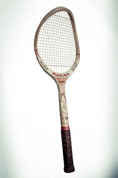 Vintage tennis racket 2 by labottegafotografica on Etsy #WimbledonWorthy