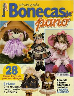 arte com as mãos bonecas de pano 12 - VILMA BONECAS - Веб-альбомы Picasa
