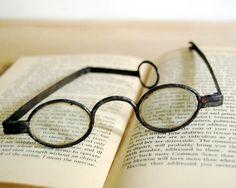These antique spectacles have forged iron frames and are more than 200 years old. CalloohCallay via Etsy.