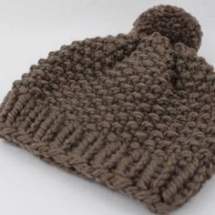 »» THIS IS A KNITTING PATTERN, NOT THE FINISHED PRODUCT For the finished product, please visit: https://www.etsy.com/listing/238754340/chunky-knit-pom-pom-hat-wool-beanie?ref=shop_home_active_6 PATTERN DETAILS » Level: Beginner » Uses basic knitting skills » Comes in PDF file format » Written in American Knitting Terms » This hat fits most adults and is suitable for both men and women » This pattern does NOT include step-by-step photos Please have a PDF reader ...