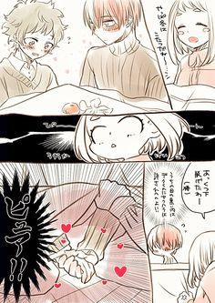 Todoroki Shouto × Midoriya Izuku & Uraraka Ochako