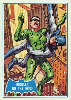 vintage batman card