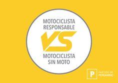 ¿Sos un #motociclista responsable? VOS ELEGÍS HACER LO CORRECTO