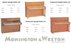 Image result for upright piano sizes White Crane, Upright Piano, Storage Chest, Cabinet, Image, Furniture, Home Decor, Clothes Stand, Decoration Home
