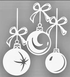 Christmas Projects, Diy And Crafts, Christmas Crafts, Crafts For Kids, Paper Crafts, Christmas Ornaments, Christmas Stencils, Christmas Paper, Handmade Christmas