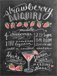 """Poster """"Classic Cocktails Red Cocktail"""" by Lily and Val, retro advertising - Cocktail Design Red Cocktails, Classic Cocktails, Cocktail Drinks, Alcoholic Drinks, Beverages, Alcohol Drink Recipes, Martini Recipes, Cocktail Recipes, Fruit Champagne"""