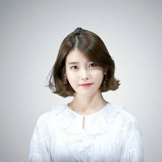 아이유 Iu Short Hair, Asian Short Hair, Cute Hairstyles For Short Hair, Asian Hair, Short Hair Cuts, Bob Hairstyles, Iu Hairstyle, Brown Bob Hair, Medium Hair Styles