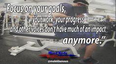 Focus on you! New workout video --> https://youtu.be/DUnRrWYpR-U