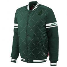 Soothing Green Varsity Jacket