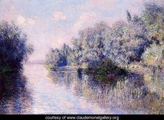 The Seine Near Giverny - Claude Oscar Monet - www.claudemonetgallery.org