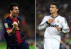 """Ronaldo dice que la """"guerra"""" entre él y Messi no existe"""