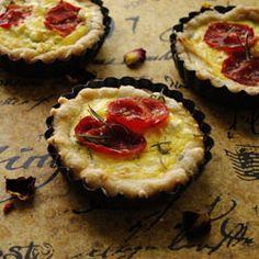 Mini Roasted Tomato and Feta Cheese Quiche