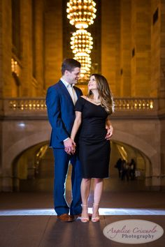 New York Grand Central Terminal Engagement Photos + Central Park | Olivia+Matt | New York Wedding Photographers and Engagement Photos with Photo Booth Rental |Angelica Criscuolo Photography