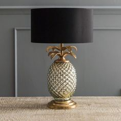 Pin for Later: 34 Ways to Sneak a Pineapple Into Your Home Lamp Base Graham and Green Silver & Gold Pineapple Lamp (£125)
