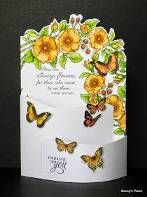 Bendy cards are fabulous display cards that are perfect for creatingthree dimensional scenes. Thesides of the card bend inwards allowing...
