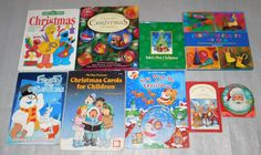 Christmas Holiday Projects Crafts Stories Coloring Activity CD Carols Lot 9