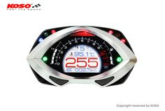 Koso RXF Multifunction TFT Motorcycle Cockpit Dash Speedometer