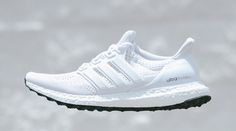 adidas Ultra Boost White White Black | Sole Collector