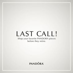 Don't miss out! Come in store today to find out which of your favorite PANDORA Jewelry pieces will soon be retired from our collection. (While supplies last. Product may vary by retailer.)