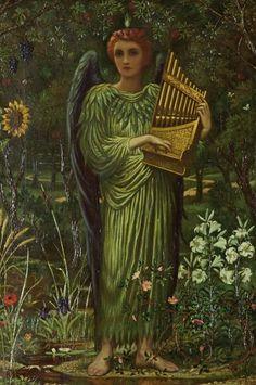 Archangel Raphael, the greta healer (Edward Fellowes Prynne)
