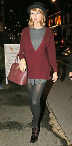 55 Reasons Why Taylor Swift Is a Street Style Pro - October 12, 2014 from #InStyle   12      4
