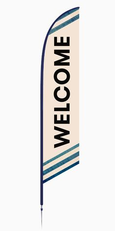outdoor welcome flag signs - Yahoo Image Search Results Outdoor Signage, Outdoor Banners, Church Lobby, Feather Flags, Welcome Banner, Flag Signs, Custom Flags, Church Banners, Church Design
