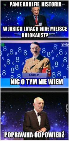 #śmieszne, #zabawne, #humor, #memy, #demotywatory, #obrazki Very Funny Memes, Wtf Funny, Polish Memes, Dark Memes, Best Memes, Einstein, Fails, Haha, Have Fun