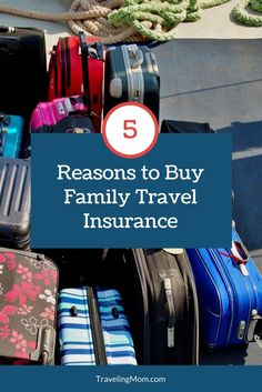 Reasons We Decided To Buy Travel Insurance We& traveled far too long without travel insurance. Come see why we finally decided to buy family travel insurance and why you should consider it too. Best Travel Insurance, Travel Insurance Companies, Health Insurance, Travel With Kids, Family Travel, Family Vacations, Travel Guides, Travel Tips, Travel Destinations