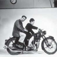 """Ray and Charles Eames. Such an amazing vision that worked in tandem to produce """"the best for the least to the most"""" (their design slogan when first producing the famed Eames line of chairs/furniture for Herman Miller). Charles Eames, Ray Charles, Design Shop, Design Design, Eames Design, Eames Chair Replica, Tutorial Diy, Motorcycle Posters, Motorcycle Art"""