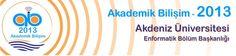 Akademik Bilişim 2013 konferansı, bu yıl 23-25 Ocak 2013 tarihlerinde Akdeniz Üniversitesinde yapılacak