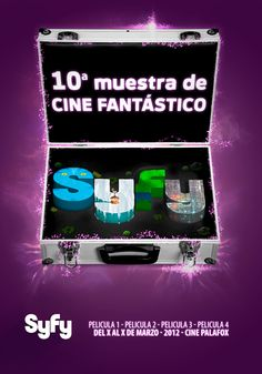 Syfy by Leonor Manso, via Behance
