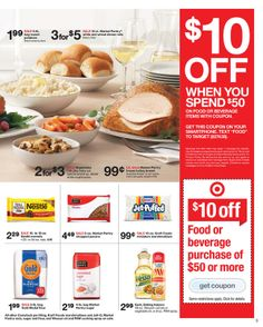 Thanksgiving is just a week away; TARGET has some great deals to help save while still have a perfect dinner for your friends and family. November 23, Special Deals, Target, Rolls, Food, Bread Rolls, Essen, Yemek, Target Audience