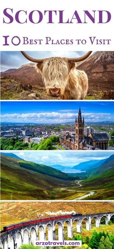 Scotland is an amazing travel destination in Europe! Discover the gorgeous scenery & beautiful cities & find out about the best places to visit in Scotland. London Eye, Scotland Travel, Ireland Travel, Scotland Uk, Scotland Trip, Travel Uk, Visiting Scotland, Funny Travel, Travel England