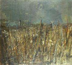 JOAN KATHLEEN HARDING EARDLEY (1921-1963) - Seeded Grasses and Daisies, September