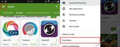 Désactiver les mises à jour automatiques des applications Android