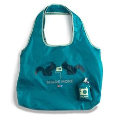 [Story] Following on the heels of our wildly popular I heart NPR reusable Chico bags, the Share More bag has the same features, like the built-in storage pou...
