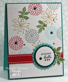 Stop and Stamp the roses: Gina K Designs: Spring Parade Stamp TV Kit sneak peek