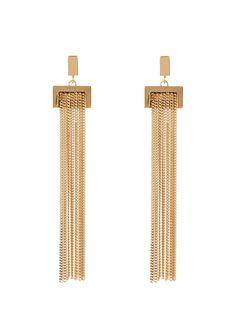 Chloé Delfine fringed earrings €450