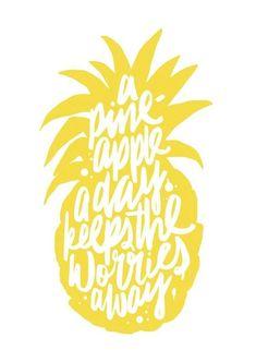 pineapples make me smile